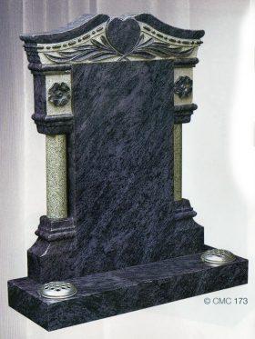 CMC173 Polished Silk Blue Granite