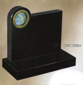 CMC206cr Polished Jet Black Granite