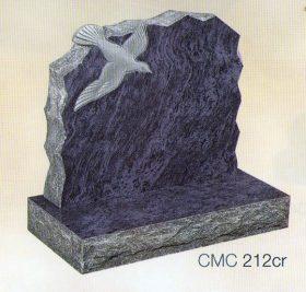 CMC212cr Polished Silk Blue Granite